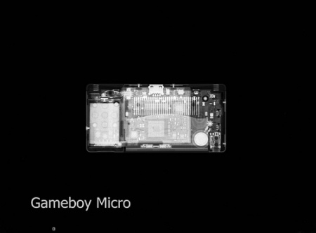 gameboy micro xray
